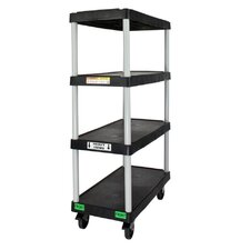 <strong>Opti Cart</strong> 4 Shelf Utility Cart