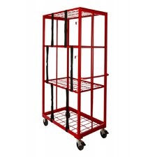 "Storage & Stocking 81"" Shelf Organizer Cart"