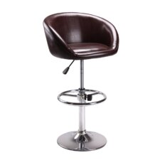 "<strong>CHP Furniture</strong> 24.5"" Adjustable Swivel Bar Stool with Cushion"