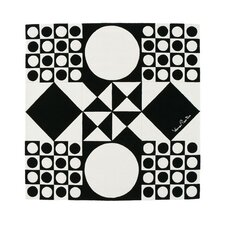 Verner Panton VP IV Black/White Area Rug