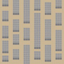 "Urban Essentials 24"" x 24"" Genome Mosaic Pattern Tile in Urban Khaki"