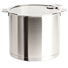 Strate Removable Handle Stock Pot with Lid