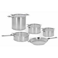 <strong>Cristel</strong> Strate Removable Handle 13-Piece Cookware Set