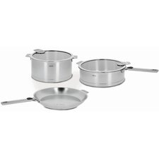 <strong>Cristel</strong> Strate Removable Handle 7-Piece Cookware Set