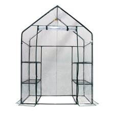 Deluxe Walk-In 3 Tier 6 Shelf Portable Greenhouse