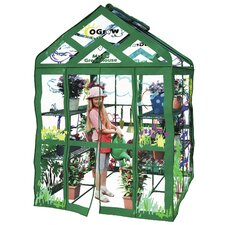 "My First Greenhouse 56"" x 56"" Walk In 3 Tier Kids Greenhouse"