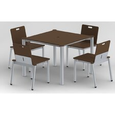 Bridge II 5 Piece Dining Set