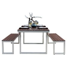 Kinzie 3 Piece Dining Set