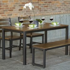 Loft 4 Piece Dining Set