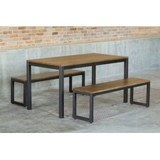 Loft 3 Piece Dining Set