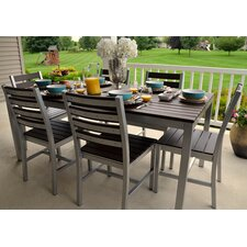 "Loft 72""x36"" Outdoor Dining Table"