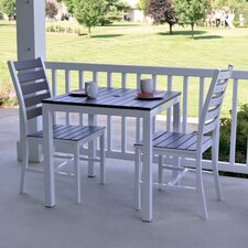 "Loft 30""x30"" Outdoor Bistro Set"