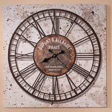 "<strong>GiftCraft</strong> Distressed Oversize  27.5""  Wall Clock"