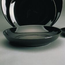 "<strong>Ten Strawberry Street</strong> Black Coupe 8"" Soup Bowl"
