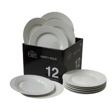 "Party Packs 6"" Round Bread and Butter Plate (Set of 12)"