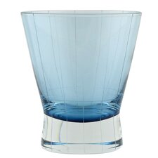 Crete Etched Double Old Fashioned Glass