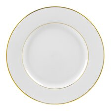 """Double Gold Line 12"""" Buffet / Charger Plate (Set of 6)"""
