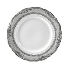 "<strong>Ten Strawberry Street</strong> Vanessa Platinum 10.5"" Dinner Plate"