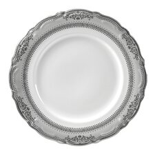"<strong>Ten Strawberry Street</strong> Vanessa Platinum 12"" Buffet Plate"