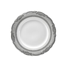 "<strong>Ten Strawberry Street</strong> Vanessa Platinum 9"" Lunch Plate"