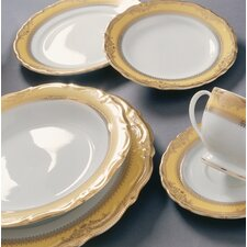 <strong>Ten Strawberry Street</strong> Studio Ten Vanessa Gold Dinnerware Set