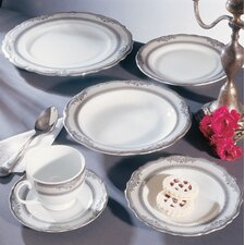 <strong>Ten Strawberry Street</strong> Studio Ten Vanessa Platinum Dinnerware Set