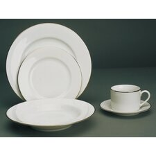 <strong>Ten Strawberry Street</strong> Gold Line Dinnerware Set