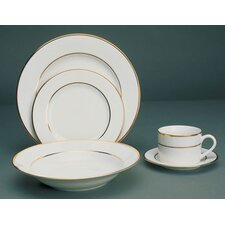 <strong>Ten Strawberry Street</strong> Double Gold Line Dinnerware Set