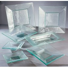 Sheer Clear Dinnerware Set