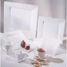 <strong>Ten Strawberry Street</strong> Whittier Square Dinnerware Set