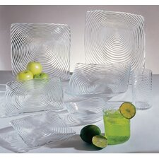 <strong>Ten Strawberry Street</strong> Zeus Clear Dinnerware Set