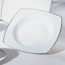 "<strong>Ten Strawberry Street</strong> Lotus Silver Line 6"" Bread and Butter Plate"