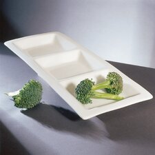 Whittier Small 3-Pocket Serving Tray