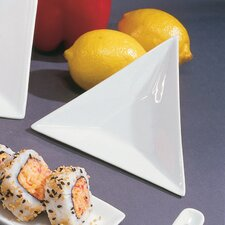 "5"" Triangle Tid Bit Serving Tray"