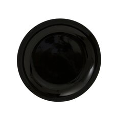 """Black Coupe 10.25"""" Dinner Plate (Set of 6)"""