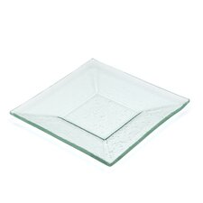 Sheer Clear Square Plate
