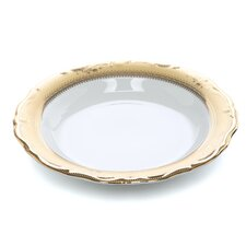 Vanessa Gold 8 oz. Rim Soup Bowl