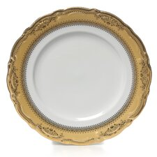"<strong>Ten Strawberry Street</strong> Vanessa Gold 10.5"" Dinner Plate"