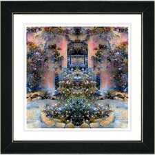 """Enchanted Garden"" by Mia Singer Framed Giclee Print Fine Art"