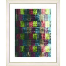"""Alchemical Table - Green"" by Zhee Singer Framed Fine Art Giclee Print"
