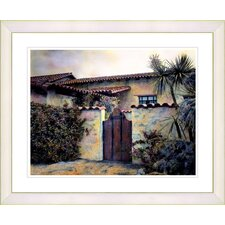 """Hacienda"" by Mia Singer Framed Fine Art Giclee Print"
