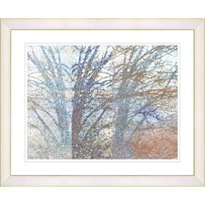 """Winter Branches"" by Zhee Singer Framed Fine Art Giclee Print"