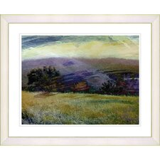 """Meadow After the Rain"" by Zhee Singer Framed Fine Art Giclee Print"