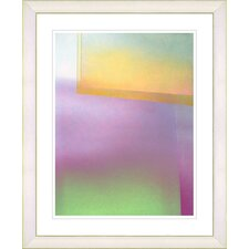"""Umfolozi - Yellow"" by Zhee Singer Framed Fine Art Giclee Print"