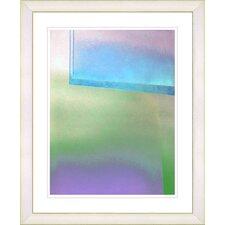 """""""Umfolozi - Blue"""" by Zhee Singer Framed Fine Art Giclee Print"""
