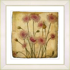 Vintage Botanical No. 39A by Zhee Singer Framed Giclee Print Fine Wall Art