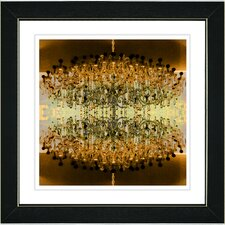 """""""Embracing Chandeliers"""" by Zhee Singer Framed Graphic Art"""
