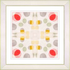"""Origami Pattern"" by Zhee Singer Framed Graphic Art"