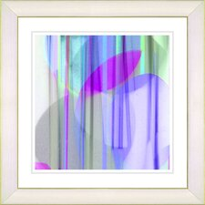 """Wave of Goodness"" by Zhee Singer Framed Graphic Art"