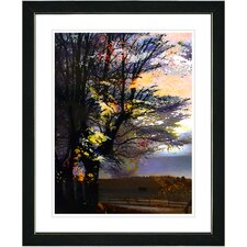 "<strong>Studio Works Modern</strong> ""Evening Foliage"" Framed Fine Art Giclee Print"